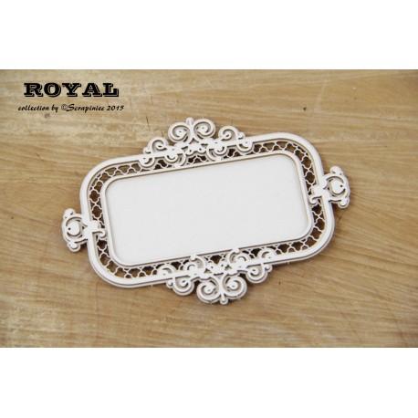 Scrapiniec Royal rectangular frame