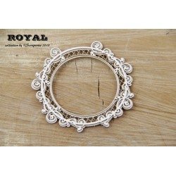 Scrapiniec Royal Round Frame Large