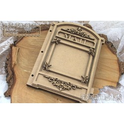 Scrapiniec  Mail Box album - Letterbox