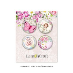 Lemoncraft Lullaby 02 Buttons / Badges