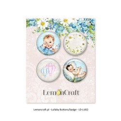 Lemoncraft Lullaby 01 Buttons / Badges