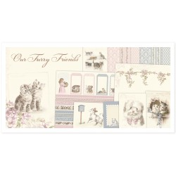 Pion Design - Complete collection - Our Furry Friends 12x12