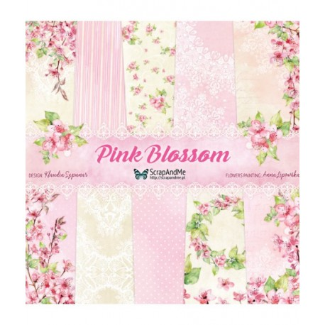 Scrapandme Pink Blossom  12x12