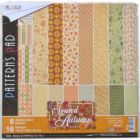 Sound Of Autumn Pattern 12x12