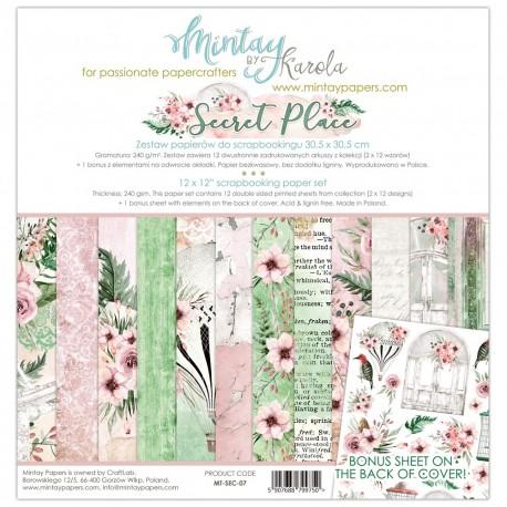 Mintay Papers Secret Place 12x12