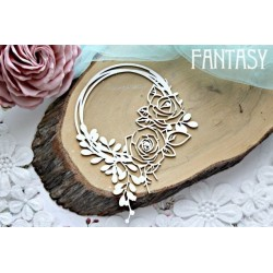 Fantasy Rose Wreath