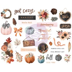 Pumpkin & Spice Collection 3x4 Paper Pad