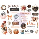 Pumpkin & Spice Collection Chipboards
