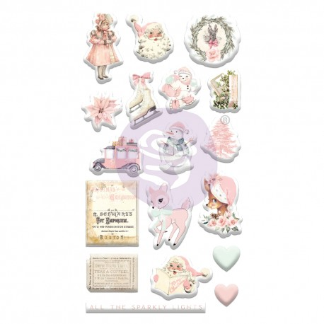 Sugar Cookie Christmas Collection Puffy Stickers