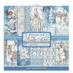 Stamperia Winter Tales 12x12