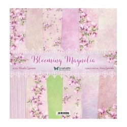 Scrapandme Blooming Magnolia Papers 12x12