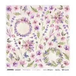 Scrapandme Meadow Impressions Flowers - Cutting Sheet