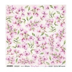 Scrapandme Blooming Magnolia Flowers - Cutting Sheet